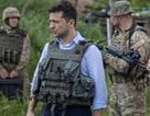 Vừa nhậm chức, tân Tổng thống Ukraine đi thăm tiền tuyến ác liệt ở miền Đông