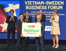Thủ tướng dự lễ công bố vận hành nhà máy sữa doanh nghiệp Việt tại Thụy Điển