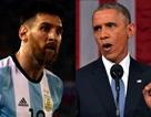 Messi được cựu Tổng thống Obama khuyên nhủ về tinh thần đồng đội