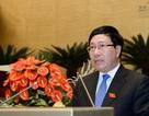 Phó Thủ tướng Phạm Bình Minh lần đầu đăng đàn trả lời chất vấn