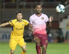 Sài Gòn FC hoà SL Nghệ An sau màn rượt đuổi tỷ số