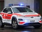 Vì sao cảnh sát Thuỵ Sĩ chọn Hyundai Kona Electric làm xe tuần tra?