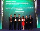 Vietcombank nhận ba giải thưởng quan trọng từ The Asian Banker