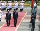 Thủ tướng Nguyễn Xuân Phúc chủ trì lễ đón chính thức người đồng cấp Italia