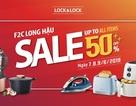 LOCK&LOCK F2C Long Hậu giảm giá sốc đến 50% trong 3 ngày 7-9/6