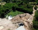"""Hàng loạt hồ chứa nước thải đang bị """"xoá dấu vết"""" ở Đồng Nai?"""