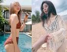 Hot girl Việt đua nhau khoe dáng nóng bỏng trên bãi biển mùa hè