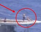 Thủy thủ Nga tắm nắng trên boong khi tàu khu trục suýt đâm phải tàu chiến Mỹ?