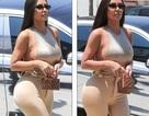 Kim Kardashian mặc táo bạo ra phố