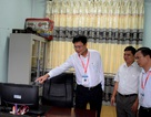 Thứ trưởng Bộ Giáo dục thị sát kiểm tra công tác chuẩn bị thi tại Cao Bằng