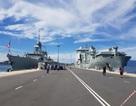 Hai chiến hạm Hoàng gia Canada chính thức thăm Cam Ranh