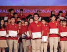 Học sinh VAS đoạt hơn 200 giải thưởng cấp quốc gia, quốc tế