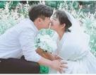17 tuổi, con gái nữ diễn viên Choi Ji Shil khoe ảnh cưới