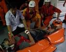 Cứu thuyền viên người nước ngoài bị chấn thương cột sống và vùng ngực do tai nạn lao động