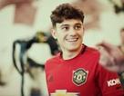 Những hình ảnh đầu tiên của tân binh Daniel James tại Man Utd