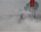 Nhiều tuyến đường ngoại thành Hà Nội mù mịt khói rơm rạ
