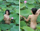 Nữ diễn viên chụp ảnh khỏa thân trong đầm sen nhờ công an vào cuộc