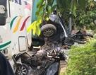 Vụ tai nạn thảm khốc 5 người chết: Do xe container lấn trái