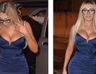 Chloe Ferry diện váy bó khoe ngực ngoại cỡ