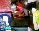 Xe khách bị ném gạch vỡ kính, một nữ hành khách bị thương