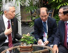 """Thủ tướng Campuchia, Singapore nhất trí """"không khơi lại quá khứ"""""""