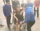 Thí sinh bị tai nạn gãy xương đùi vẫn không bỏ thi