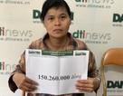 Người phụ nữ bất hạnh xúc động khi được bạn đọc Dân trí giúp đỡ hơn 150 triệu đồng