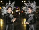 Hoa hậu Ngọc Diễm làm vedette show thời trang