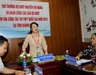 Thứ trưởng Nguyễn Thị Nghĩa kiểm tra công tác thi tại Quảng Nam