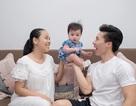 Bà xã Quốc Nghiệp bình thản trước tin đồn chồng từng có vợ và hai con riêng