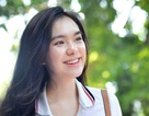 Hot girl trường Trần Phú suýt ngất vì nắng nóng mùa thi