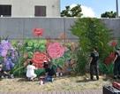 Xuất hiện bức tranh tường khổng lồ của các hoạ sĩ Việt bên bờ sông Seine - Pháp