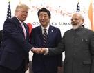 Ông Trump đấm tay cùng Thủ tướng Nhật, Ấn