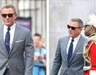 """""""Điệp viên 007"""" Daniel Craig tái xuất lịch lãm trên phim trường"""