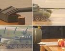 Ấn tượng kỹ thuật bổ táo, vẽ tranh chuẩn xác của xe tăng Nga
