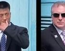 """Cận vệ Mỹ - Triều giáp mặt """"lạnh như băng"""" tại cuộc gặp Trump - Kim"""