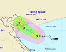 Hình thành bão số 2 trên Biển Đông