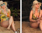 Katy Perry gợi cảm với áo tắm