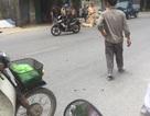 Người đi xe máy hất văng CSGT đang được điều trị chấn thương vùng đầu