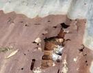 Di dời trụ điện, phát hiện kho đạn cối dưới lòng đất