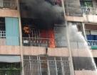 Toàn cảnh vụ giải cứu 28 người kẹt trong đám cháy ký túc xá cao tầng ở Sài Gòn