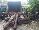 Lạ kỳ hàng loạt xe gỗ lậu ngang nhiên chạy rầm rầm qua chốt kiểm lâm!