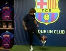 Griezmann nói gì trong ngày ra mắt Barcelona?