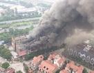 Cháy dữ dội dãy nhà liền kề gần Thiên Đường Bảo Sơn