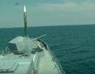 Tàu khu trục Nga bắn trúng tên lửa trong tập trận hải quân ở Crimea