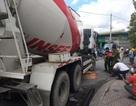 Điều tra nghi vấn xe bồn bê tông chạy vào đường cấm cán chết cô gái trẻ