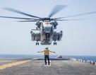 Cuộc đụng độ nguy hiểm giữa tàu chiến Mỹ và trực thăng Iran trước khi UAV bị bắn rơi