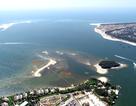 Thêm một đảo cát nhỏ đang hình thành ở biển Hội An
