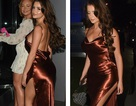 Demi Rose diện váy hở lưng gợi cảm