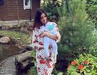 Người đẹp Nga khoe con giữa nghi vấn con trai không phải của cựu vương Malaysia